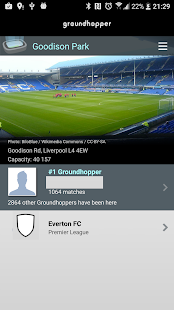 Groundhopper - Live Football- screenshot thumbnail
