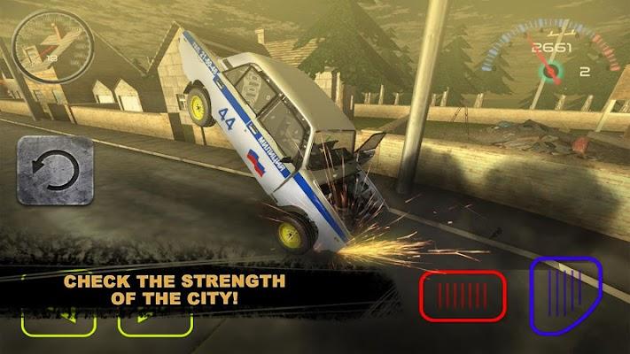 Car Police Total Destruction - screenshot