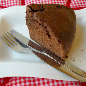 Chocolate Cake With Spearmint Infusion