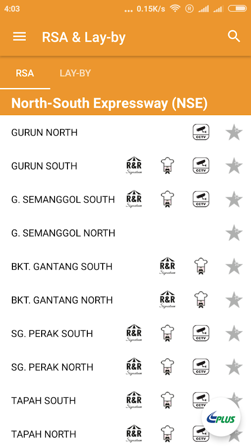 PLUS Expressways - PLUS Mobile- screenshot