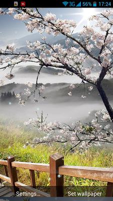 Spring Sunrise Live Wallpaper - screenshot