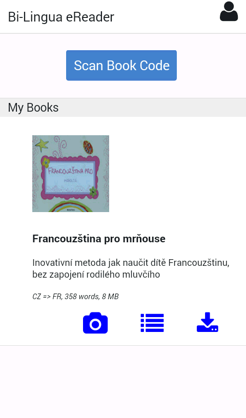 Bi-Lingua eReader- screenshot