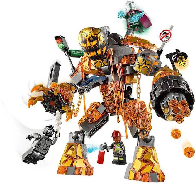 Contenido de Lego® 76128 Batalla contra Molten Man