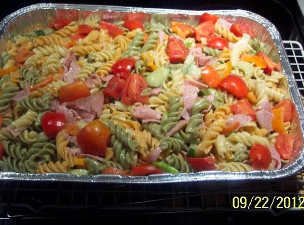 Pasta Ham Salad For Amerion Legion Fall Dist.conf. Recipe