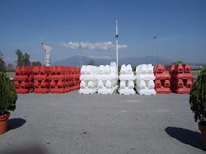 Photo: New Jersey barrier-Μπαριέρα ΟδοσήμανσηςTIGER-PLAST sa ΚΑΡΑΒΑΤΣΗΣ Γ. ΠΑΝΑΓΙΩΤΗΣ ΑΒΕΕ