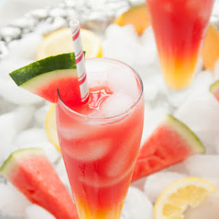 Watermelon Cantaloupe Lemonade