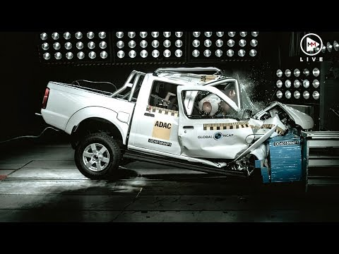The Nissan Hardbody is not safe at all according to NCAP tests.