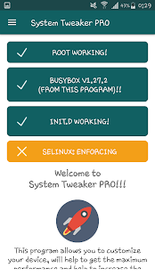 System Tweaker PRO [root] Screenshot