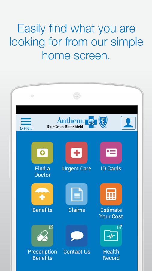 Anthem Blue Cross Blue Shield - screenshot