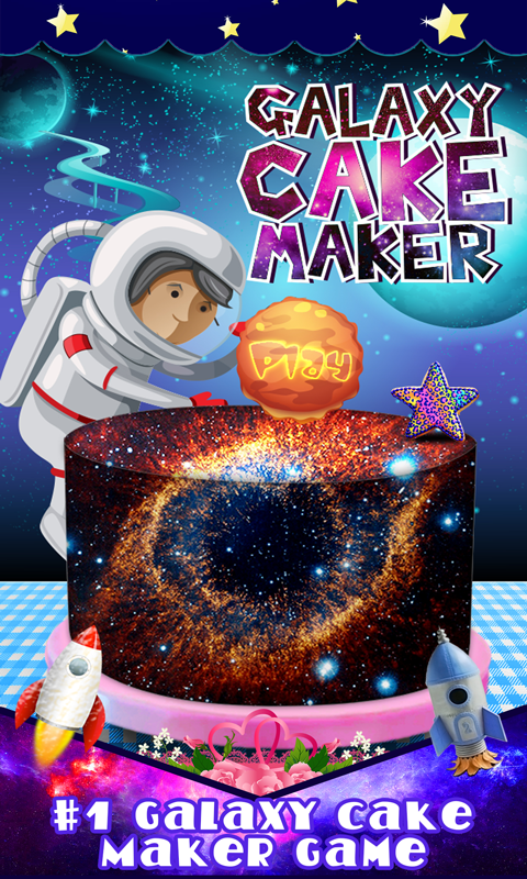 Diy galaxy cake maker decor android apps on google play for Galaxy maker