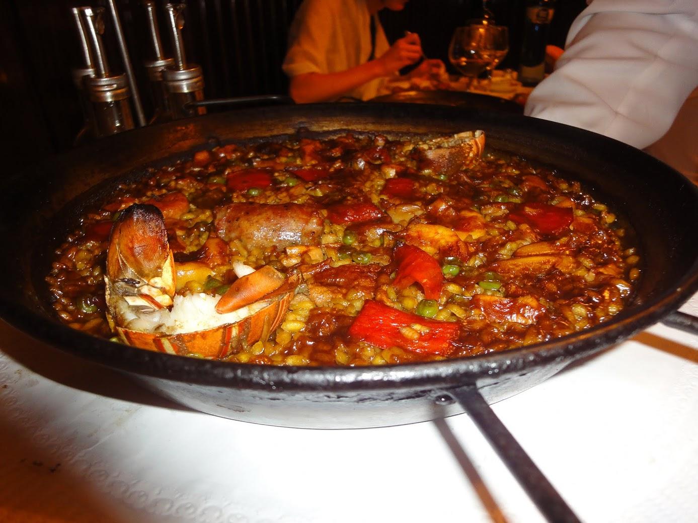 Paella au Restaurant 7 Portes à Barcelone