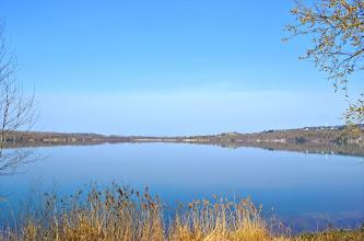 Photo: Blick auf den Borkener See, (c) Martina Sachs