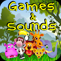 Zoo Animal Games for Toddlers icon