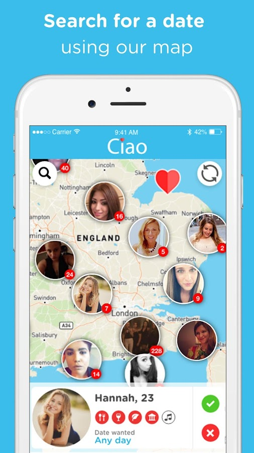 Ciao Date - Find a Date Idea- screenshot