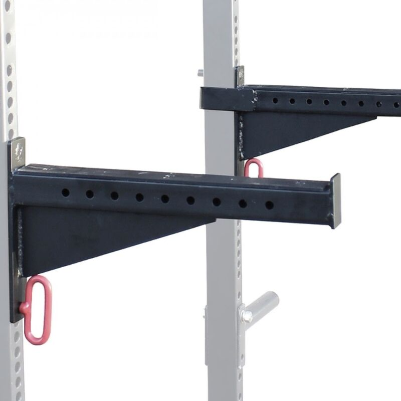 Spotter arms for Titan T-3 squat racks and stands