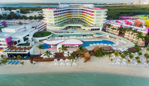 temptation-resort-aerial.jpg - An aerial view of of the all-inclusive Temptation Cancun Resort in Mexico's Yucatan.