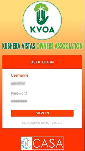 CASA for Kubhera Vistas Owners Association (KVOA).  screenshots 2