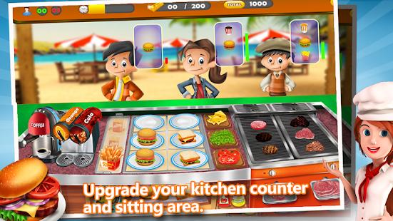 Fast Food Street Tycoon- screenshot