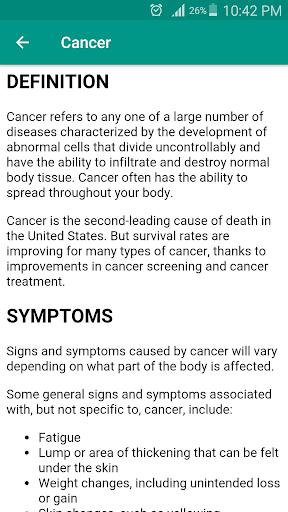 Disorder & Diseases Dictionary Apps (apk) kostenlos herunterladen für Android/PC/Windows screenshot