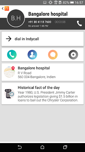 IndyCall - Free calls to India