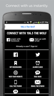 106.5 The WOLF – KC's Country- screenshot thumbnail