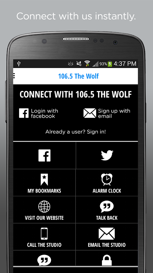 106.5 The WOLF – KC's Country- screenshot