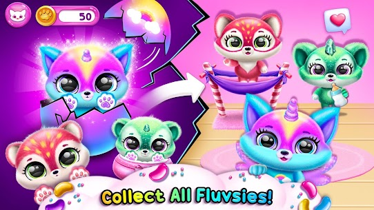 Fluvsies – A Fluff to Luv MOD (Unlimited Money) 4