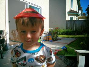 Photo: Junior Pacman Baby in a Super Hat