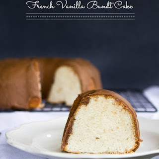 French Vanilla Bundt Cake.