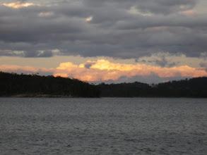 Photo: Clouds over Quarantine Bay