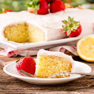 Strawberry-Lemon Cake