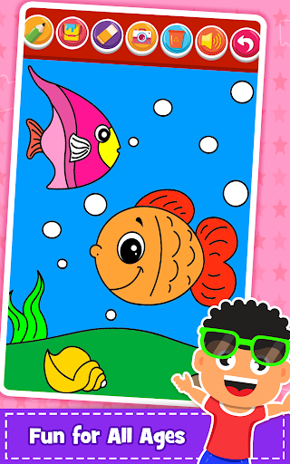 Coloring Games : PreSchool Coloring Book for kids 1.1 screenshots 7