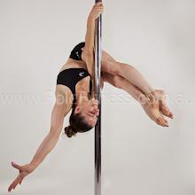 Photo: Vertical pole gymnastics at www.polefitness.com.au
