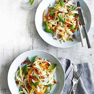 Thai-style Shredded Chicken Salad.