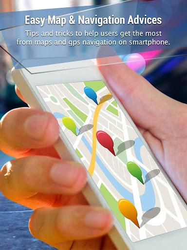 簡単地図&ナビゲーションアドバイス