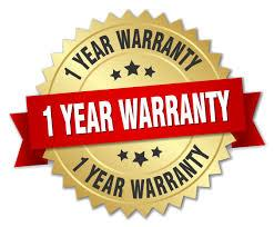 Image result for 1 year warranty