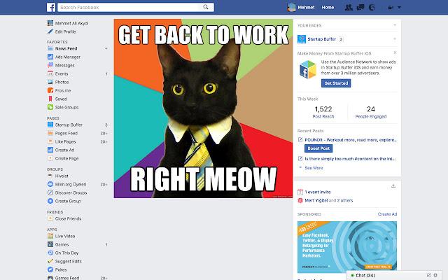 No More Timeline for Facebook