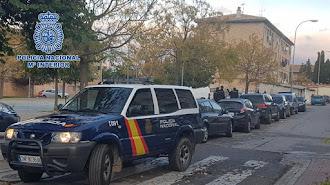 Operación desarrollada por la Policía Nacional en Granada.