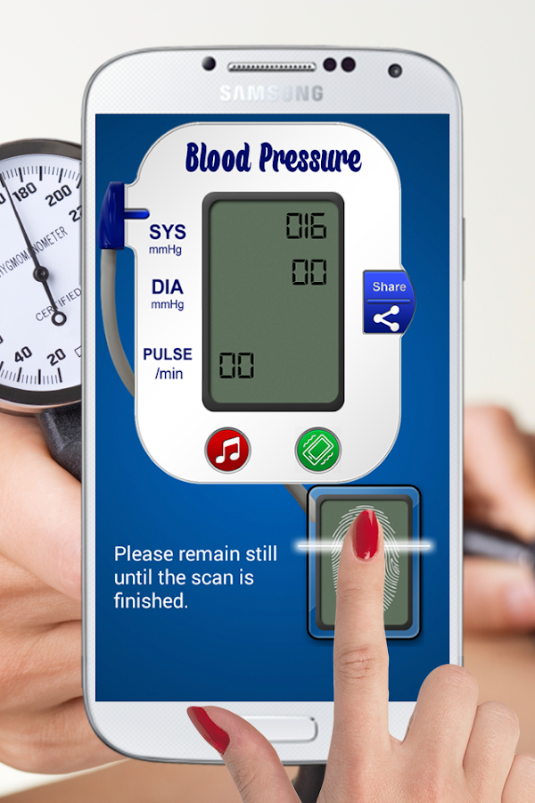 Blood Pressure Scanner Prank - Android Apps on Google Play