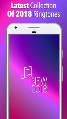 New Ringtones 2018 - screenshot
