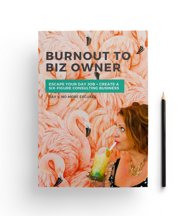 Burnout to Biz Owner Workbook Cover