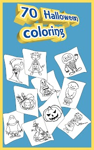Halloween Coloring Pages 🎃 Screenshot