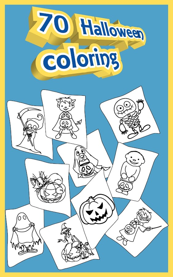 Halloween Coloring Pages 🎃- screenshot
