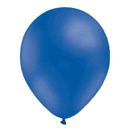 Ballonger 13 cm blå