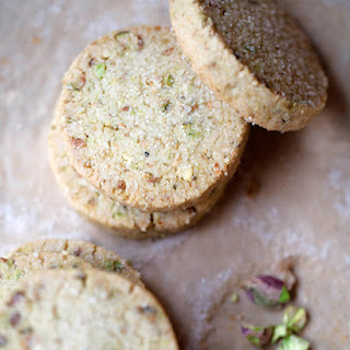 Pistachio Shortbread Cookie