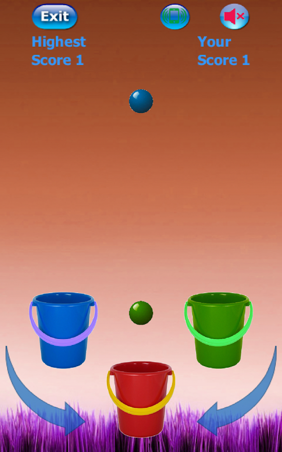 Bucket Ball- screenshot