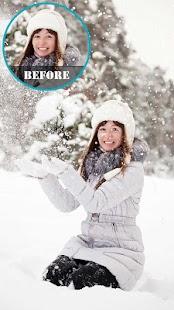 Snowfall Photo Editor - náhled