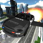Flying Police Car Chase icon