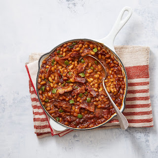 Campfire Baked Beans.