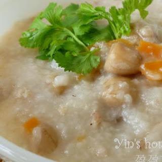 Mince Carrot Peanuts Porridge